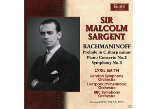 LSO, Smith, LPO, BBC SO, Sargent - Sir Malcolm Sargent dirigiert - (CD)