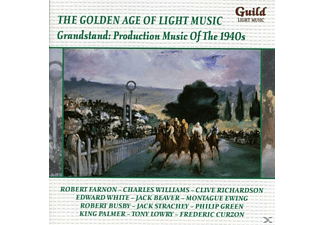 Farnon/Torch/Collins/Torch/Leon/Williams/+ - Grandstand: Production Musik of the 1940s - (CD)