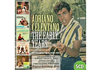 Adriano Celentano - The Early Years [CD]