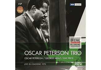Oscar Trio Peterson - Oscar Peterson Trio-Live In Cologne 1970 - (LP + Download)