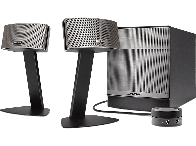 BOSE Companion 50 multimedia speaker system zwart (373511-2100)
