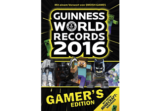 Guinnes World Records 2016 - Gamer's Edition, Sachbuch (Gebunden)
