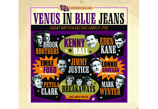 VARIOUS - Venus In Blue Jeans-Great British Labels: Pye [CD]