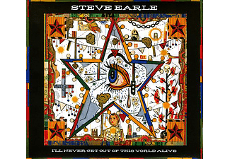 Steve Earle - I'll Never Get Out of This World Alive (CD)