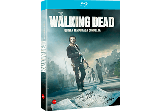 Tv The Walking Dead 5A Temporada - Blu-ray