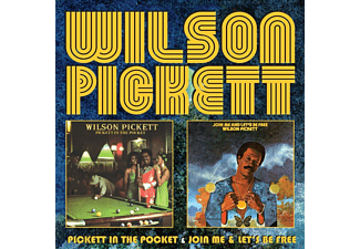 Wilson Pickett - Pickett In The Pocket/Join Me/Lets Be Free [CD]