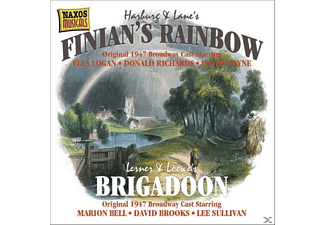 Broadway Cast 1947 - Finian's Rainbow/Brigadoon - (CD)