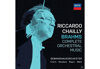 Riccardo Chailly - Brahms: Complete Orchestral Music - (CD)