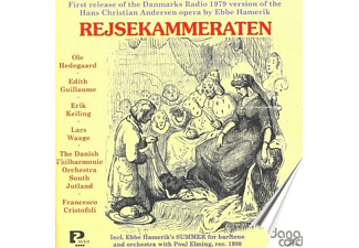 Ole Hedegaard, Edith Guillaume, Erik Keiling, Lars Waage, The Danish Philharmonic Orchestra South Jutland - Rejsekammeraten-Oper - (CD)