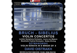 LONDON SY ORCH. - LOVRO VON MATACIC, David/matacic/ehrling/yampolsky Oistrach - David Oistrach spielt - (CD)