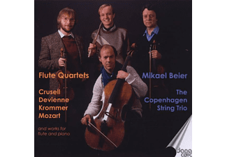 The Copenhagen String Trio Beier - FLUTE QUARTETS - (CD)
