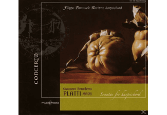 Filippo Emanuele Ravizza - Giovanni Benedetto Platti: Sonatas for Harpsichord - (CD)
