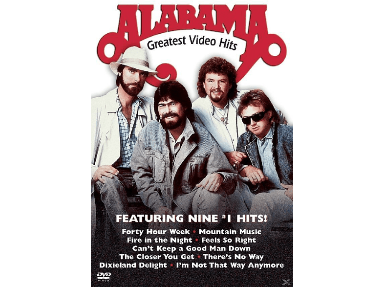 Alabama - Greatest Video Hits [DVD]