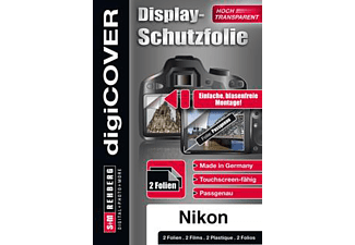 S+M digiCOVER Basic Nikon D750 Display-Schutzfolie, Transparent