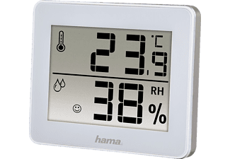 "HAMA Thermo-/Hygrometer ""TH-130"", Weiß"