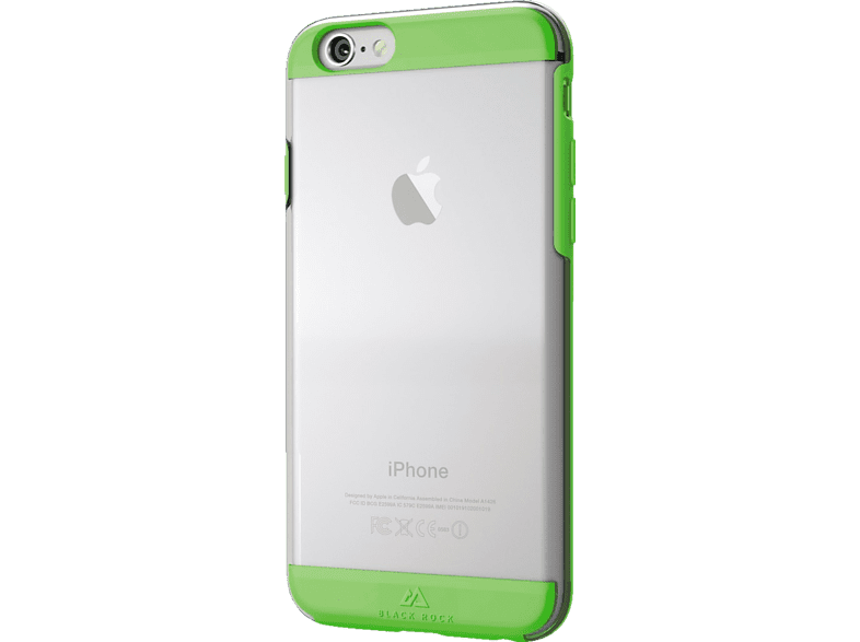 BLACK ROCK Air Backcover Apple iPhone 6, iPhone 6s Kunststoff/Polycarbonat/Thermoplastisches Polyurethan Grün