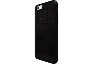 BLACK ROCK Snake Backcover Apple iPhone 6, iPhone 6s Kunststoff/Echtleder/Polycarbonat/Thermoplastisches Polyurethan Schwarz
