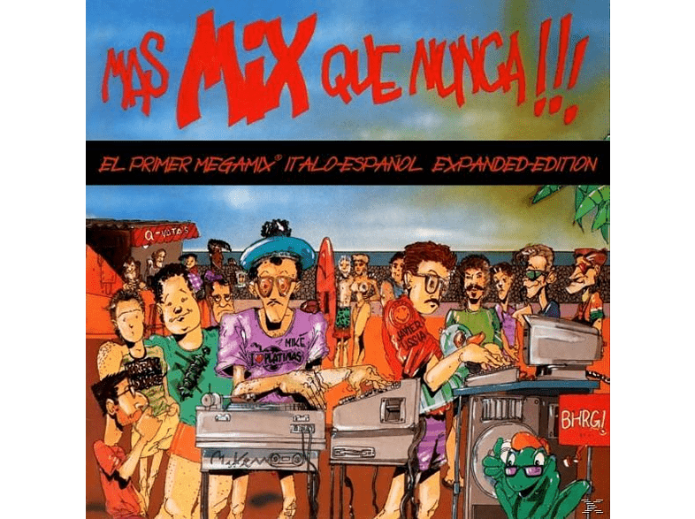 VARIOUS - Mas Mix Que Nunca !!! (Expanded Edition) [CD]