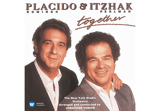 Itzhak Perlman, Plácido Domingo, New York Studio Orchestra - Together - (CD)