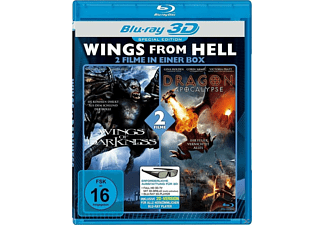 Wings From Hell 3D: Wings Of Darkness / Dragon Apocalypse - (3D Blu-ray)