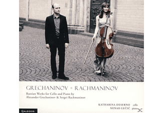 Deserno,Katharina/Lecic,Nenad - Russian Works for Cello and Piano - (CD)