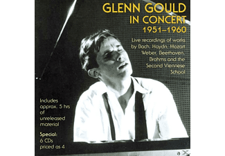 Glenn Gould, VARIOUS - Glenn Gould In Concert 1951-1960 [Box-Set] - (CD)