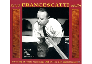 Zino Francescatti, Francescatti/Div.Dirig.& Orch. - Z.Francescatti-A Treasury of Studio Recordings - (CD)