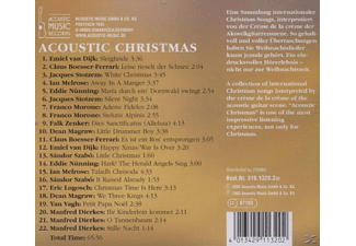 VARIOUS - Acoustic Christmas - (CD)