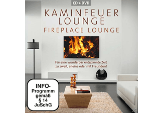 VARIOUS - Kaminfeuer Lounge - (CD + DVD Video)