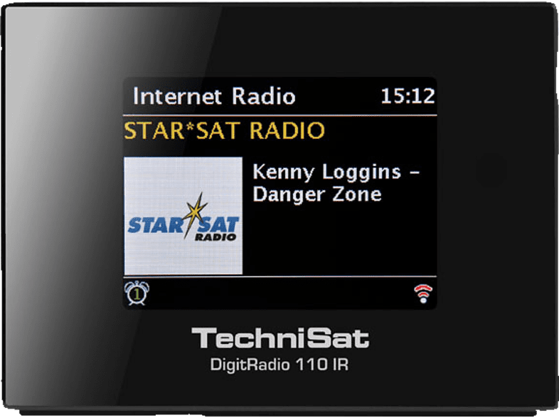 TECHNISAT DIGITRADIO 110 IR Internetradio (UKW, DAB, DAB+, Internet, Schwarz)