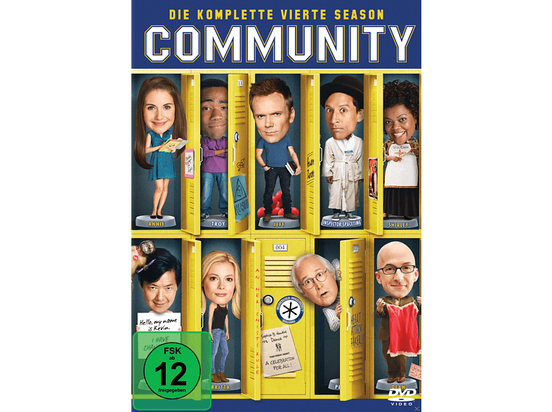 Community - Staffel 4 [DVD]