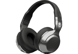 SKULLCANDY HESH 2, Over-ear Headset, Bluetooth, Schwarz/Silber