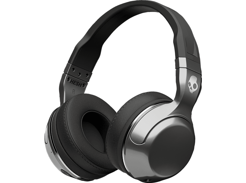 SKULLCANDY HESH 2, Over-ear Headset Bluetooth Schwarz/Silber