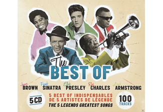 James Brown, Frank Sinatra, Elvis Presley, Ray Charles, Louis Armstrong - The Best Of - (CD)