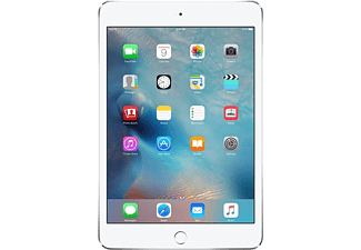 "APPLE iPad Mini 4 7.9"" 128 GB Wi-Fi + Cellular Silver Edition 2015 (MK772NF/A)"