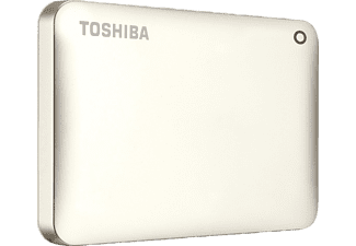 TOSHIBA Canvio Connect II, 3 TB, Gold, Externe Festplatte, 2.5 Zoll