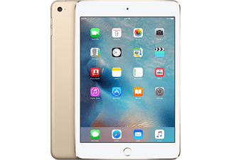 APPLE iPad mini 4 Cellular 128 GB Surfplatta - Guld
