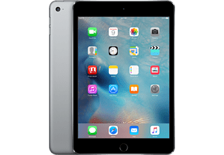 APPLE iPad mini 4 Cellular 128 GB Surfplatta - Grå
