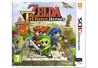 The Legend of Zelda: Tri Force Heroes | 3DS