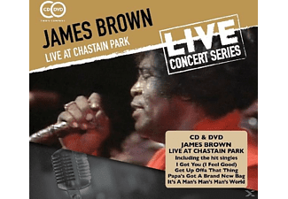 James Brown - Live At Chastain Park - (CD + DVD Video)
