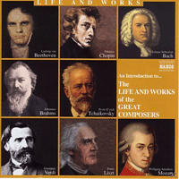 VARIOUS - Life+Works Of Great Composers - (CD)