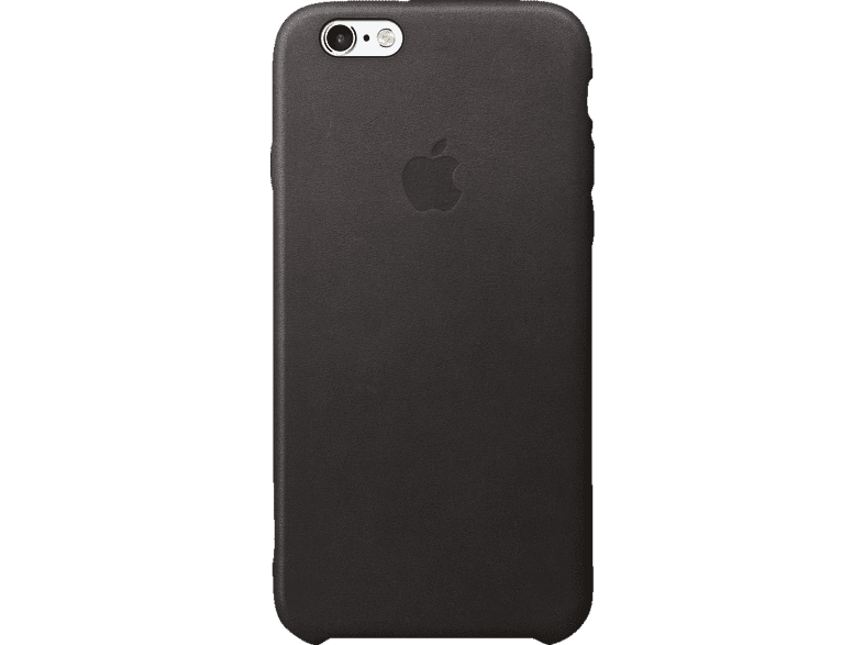 APPLE iPhone 6s Leder Case , Backcover, Apple, iPhone 6s, Echtleder, Schwarz
