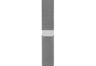 APPLE MJ5F2ZM/A Milanese Loop Armband für Apple Watch 42 mm, Armband, Apple, Silber
