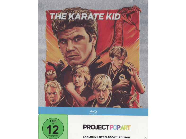 Karate Kid (Steelbook Edition / Pop Art/Exlusiv) [Blu-ray]