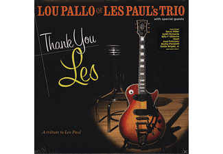 Lou Pallo Of Les Paul's Trio, VARIOUS - Thank You Les - A Tribute To Les Paul - (Vinyl)