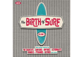 VARIOUS - The Birth Of Surf Vol.3 - (CD)