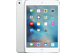 APPLE iPad mini 4 Wi-Fi + Cellular 128GB Silver - (MK772RK/A)