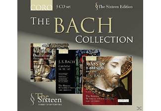 The Sixteen - THE BACH COLLECTION - (CD)