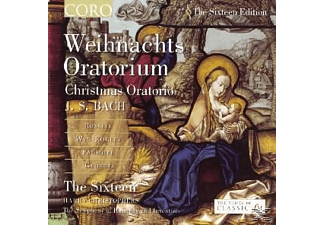 Sixteen,The/Christophers,Harry - Weihnachts Oratorium / Christmas Oratorio - (CD)