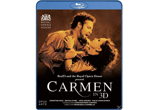 Carydis/Rice/Hymel/Argiris - Carmen In 3d - (Blu-ray)